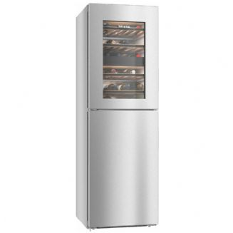 MIELE KWNS 2846E  Freestanding fridge-freezer With 2 wine conditioning zones and IceMaker